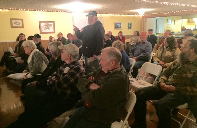 Great Turnout in Marblemount Last Night!