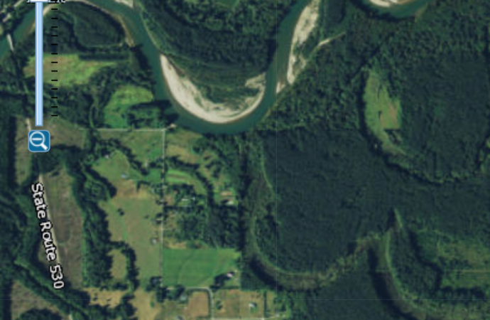 Skagit River Near Martin Road 1937 vs. 2015