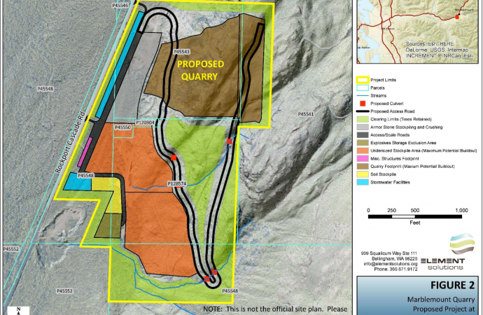 """Kiewit's proposed mining activities are expressly prohibited by Skagit County zoning"""